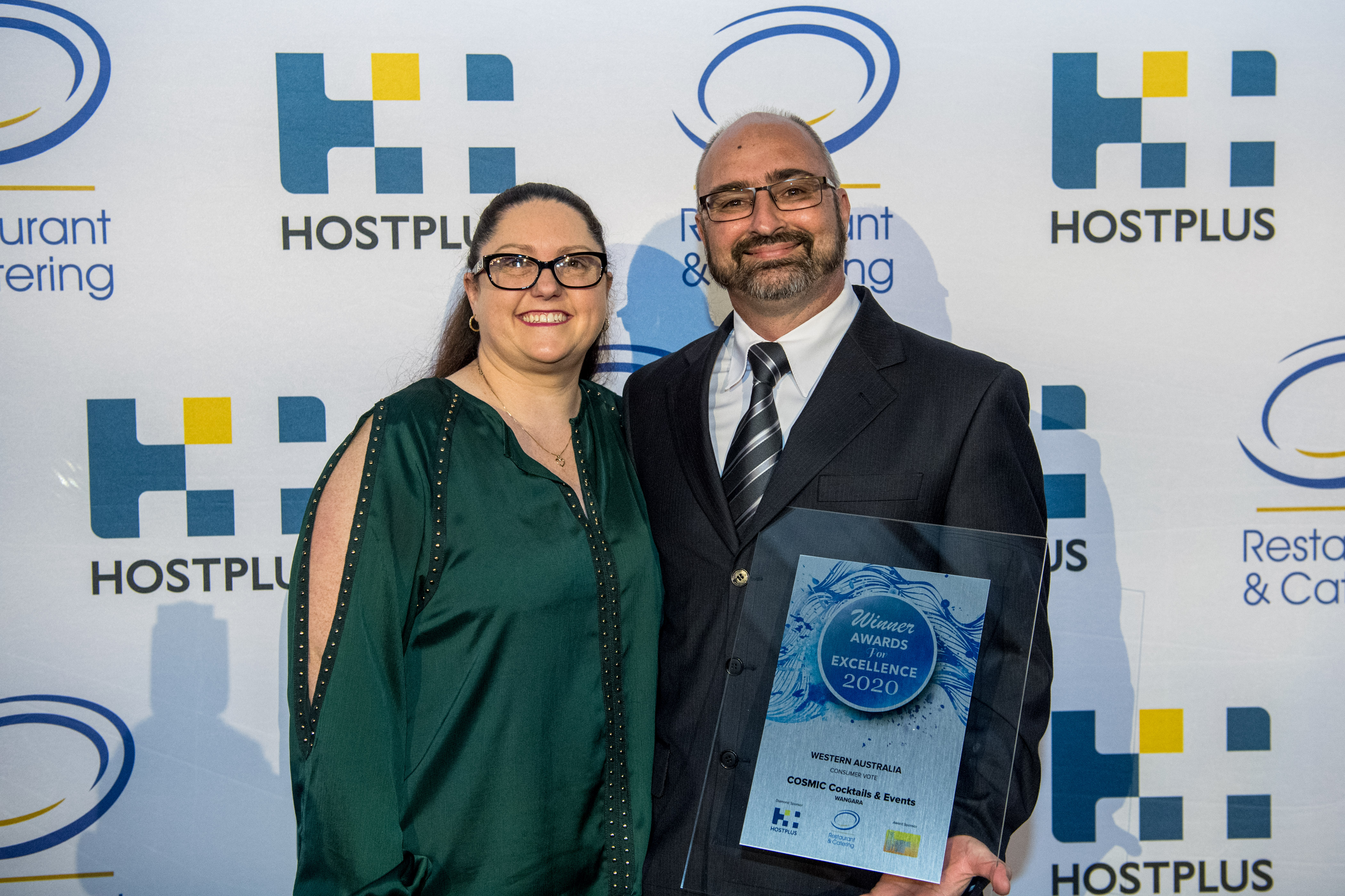 Clint Gurney & Tanya Gurney From COSMIC Cocktails & Events Win Consumer Vote Award 2020
